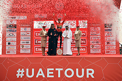 March 1, 2019 - Dubai, Emirati Arabi Uniti, Emirati Arabi Uniti - Foto LaPresse - Massimo Paolone.1 Marzo 2019 Emirati Arabi Uniti.Sport Ciclismo.UAE Tour 2019 - Tappa 6 - da Ajman a Jebel Jais -.180 km.Nella foto: Primoz ROGLIC TEAM JUMBO - VISMA vince la sesta tappa..Photo LaPresse - Massimo Paolone.March 1, 2019 United Arab Emirates.Sport Cycling.UAE Tour 2019 - Stage 6 - Ajman to Jebel Jais - 111,8.miles.In the pic: Primoz ROGLIC TEAM JUMBO - VISMA wins stage 6 (Credit Image: © Massimo Paolone/Lapresse via ZUMA Press)