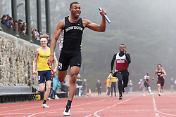 Men's 4x100 relay, Bowdoin, Maine State Outdoor Track & FIeld Championships