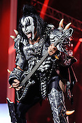 Photos of the glam rock band KISS performing live on 'The Tour' at PNC Bank Arts Center in Homdel, NJ. September 21, 2012. Copyright © 2012 Matthew Eisman. All Rights Reserved.
