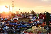 Brzegi, 31.07.2016. Poranek w ostatni dzien Swiatowych Dni Mlodziezy. Fot: Krystian Maj/FORUM