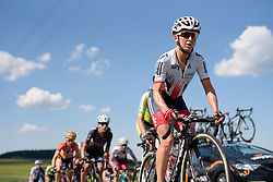 Emma Pooley (Great Britain) at Thüringen Rundfarht 2016 - Stage 6 a 130 km road race starting and finishing in Schleiz, Germany on 20th July 2016.