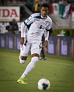 Cuba defender Yosel Piedra (6) in action during a game between Mexico and Cuba in a CONCACAF Gold Cup soccer match in Pasadena, Calif., Saturday, June 15, 2019. Mexico defeated Cuba 7-0. (Ed Ruvalcaba/Image of Sport)