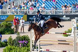 VON ECKERMANN Henrik (SWE), Toveks Mary Lou<br /> Tryon - FEI World Equestrian Games™ 2018<br /> 2. Qualifikation Teamwertung 2. Runde<br /> Stechen Jump-Off<br /> 21. September 2018<br /> © www.sportfotos-lafrentz.de/Stefan Lafrentz
