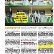 """""""Il prete della frontiera messicana"""", published in Credere magazine, May 2017, Italy"""