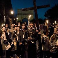 La Via crucis del «popolo dei gitani» a Roma