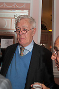 RICHARD INGRAMS, The Oldie - 20th anniversary party. Simpson's-in-the-Strand, 100 Strand, London, WC2. 19 July 2012