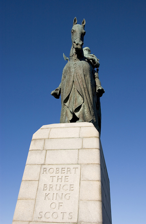 Robert the Bruce monument, Bannockburn<br />