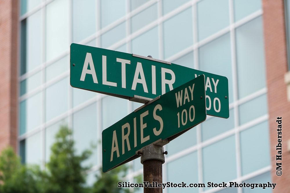 Altair Way Sign