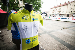 Green jersey of 26th Tour of Slovenia 2019 cycling race between Trebnje and Novo mesto (167,5 km), on June 23, 2019 in Slovenia. Photo by Peter Podobnik / Sportida