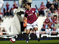 Photo: Olly Greenwood.<br />West Ham United v Newcastle United. The Barclays Premiership. 17/09/2006. West Ham's Javier Mascherano