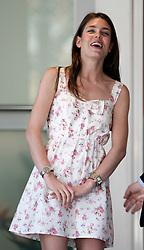 MONTE-CARLO, MONACO - Sunday, May 24, 2009: Charlotte Casiraghi, niece of Prince Albert II of Monaco, during the Monaco Formula One Grand Prix at the Monte-Carlo Circuit. (Pic by Juergen Tap/Hoch Zwei/Propaganda)