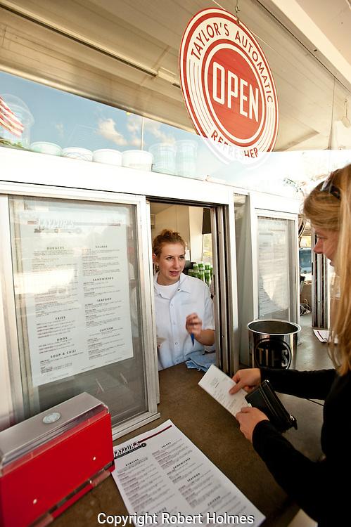 Taylor's Automatic Refresher, St. Helena, Napa, California