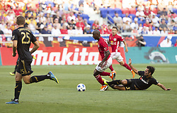 August 5, 2018 - Harrison, New Jersey, United States - Bradley Wright-Phillips (99) of Red Bulls controls ball during regular MLS game against LAFC at Red Bull Arena Red Bulls won 2 - 1 (Credit Image: © Lev Radin/Pacific Press via ZUMA Wire)