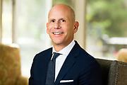 Portrait of Michael Silvestro, CEO of Flexjet in Hudson, Ohio on October 26, 2017.