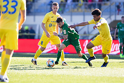 Suljic Asmir of NK Olimpija Ljubljana vs Hodzic Nermin of NK Domzale during football match between NK Olimpija Ljubljana and NK Domžale in 24rd Round of Prva liga Telekom Slovenije 2018/19, on March 30, 2019 in Sports park Domzale, Slovenia Photo by Matic Ritonja / Sportida