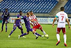 May 23, 2018 - Montpellier, France - Yan Boe-Kan (ACA) vs Ola Toivonen  (Credit Image: © Panoramic via ZUMA Press)
