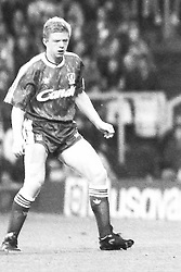 David Burrows  Liverpool, Coventry City v Liverpool, Highfield Road,  1991