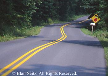 Roads, highways, back roads, PA