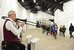 Entertainment with in the South Stand concourse - Mandatory byline: Dougie Allward/JMP - 07966386802 - 06/11/2015 - RUGBY - Ashton Gate -Bristol,England - Bristol Rugby v Doncaster Knights - Greene King IPA Championship