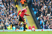 Jesse Lingard of Manchester United during the Barclays Premier League match between Manchester City and Manchester United at the Etihad Stadium, Manchester, England on 20 March 2016. Photo by Phil Duncan.