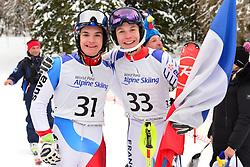 Super Combined and Super G, GMUR Theo, LW9-1, SUI, BAUCHET Arthur, LW3, FRA at the WPAS_2019 Alpine Skiing World Championships, Kranjska Gora, Slovenia
