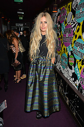 LAURA BAILEY at Hoping's Greatest Hits - the 10th Anniversary of The Hoping Foundation's charity benefit held at Ronnie Scott's, 47 Frith Street, Soho, London on 16th June 2016.