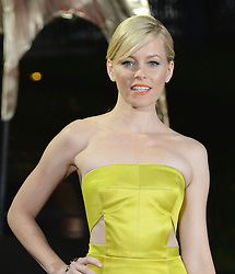 Elizabeth Banks arrives for The Hunger Games: Catching Fire premiere, Leicester Square, London, United Kingdom. Monday, 11th November 2013. Picture by Andrew Parsons / i-Images