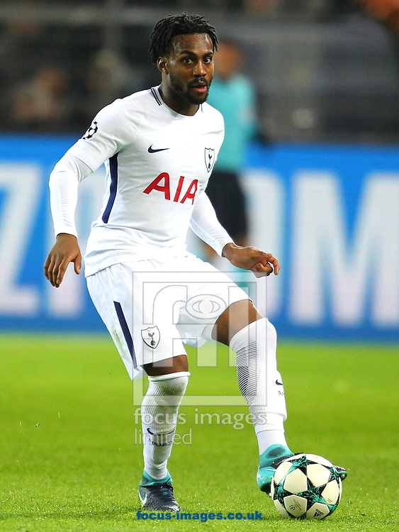 Danny Rose of Tottenham Hotspur during the UEFA Champions League match at Signal Iduna Park, Dortmund<br /> Picture by Yannis Halas/Focus Images Ltd +353 8725 82019<br /> 21/11/2017