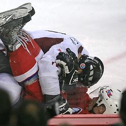 20080511: Ice Hockey - IIHF World Championship, Latvia vs Norway, Halifax, Canada
