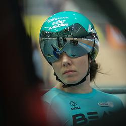 28-12-2019: Wielrennen: NK Baan: Alkmaar <br />Laurine van Riessen pakt de sprint titel