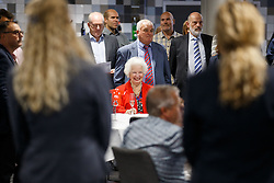 Marina Dolman looks on as Lansdown Club Members are given a preview of the Heineken Lounge and other facilities in the newly built South Stand - Mandatory byline: Rogan Thomson/JMP - 07966 386802 - 13/08/2015 - SPORT - Ashton Gate Stadium - Bristol, England - Bristol Sport Lansdown Club Networking Event.