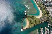Magic Island, Ala Moana,  Waikiki, Oahu, Hawaii, USA<br />