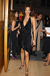 "Model LISA BUTCHER at a party hosted by Christopher Bailey to celebrate the launch of ""The Snippy World of New Yorker Fashion Artist Michael Roberts"" held at Burberry, 21-23 New Bond Street, London on 20th September 2005.<br />