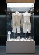 Rafa Nadal Academy in Manacor, Mallorca,Museum,Federer und Nadal Kleidung vom 2008 Wimnbledon Finale,<br /> <br />  - Rafa Nadal Academy -  -  Rafa Nadal Academy - Manacor - Mallorca - Spanien  - 24 October 2016. <br /> &copy; Juergen Hasenkopf