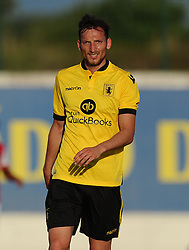 Aston Villa's Libor Kozak  - Photo mandatory by-line: Joe Meredith/JMP - Mobile: 07966 386802 - 17/07/2015 - SPORT - Football - Albufeira - Estadio Da Nora - Pre-Season Friendly