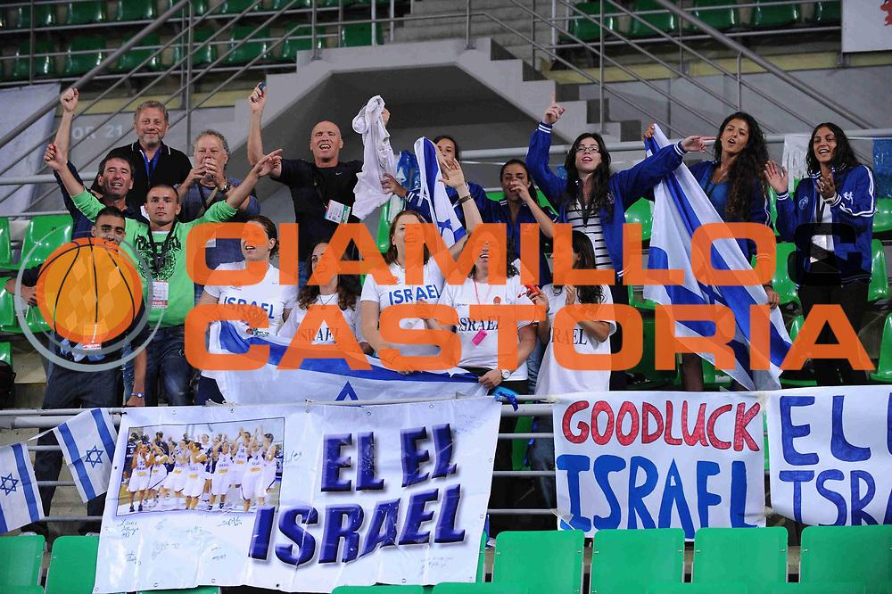DESCRIZIONE : Bydgoszcz Poland Polonia Eurobasket Women 2011 Round 1 Repubblica Ceca Israele Czech Republic Israel<br /> GIOCATORE : Fans<br /> SQUADRA : Israele Israel<br /> EVENTO : Eurobasket Women 2011 Campionati Europei Donne 2011<br /> GARA : Repubblica Ceca Israele Czech Republic Israel<br /> DATA : 18/06/2011 <br /> CATEGORIA : <br /> SPORT : Pallacanestro <br /> AUTORE : Agenzia Ciamillo-Castoria/M.Marchi<br /> Galleria : Eurobasket Women 2011<br /> Fotonotizia : Bydgoszcz Poland Polonia Eurobasket Women 2011 Repubblica Ceca Israele Czech Republic Israel<br /> Predefinita :