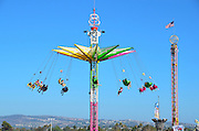 A Carnival Ride At the Orange County Fair