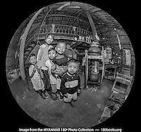 Family Photo ~ Myanmar