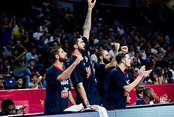 Antoine Diot of France reacts during basketball match between National Teams of Germany and France at Day 10 in Round of 16 of the FIBA EuroBasket 2017 at Sinan Erdem Dome in Istanbul, Turkey on September 9, 2017. Photo by Vid Ponikvar / Sportida