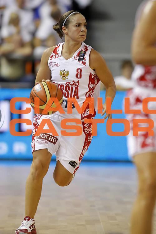 DESCRIZIONE : Brno Repubblica Ceca Czech Republic Women World Championship 2010 Campionato Mondiale Eight-Final Round Russia Spain<br /> GIOCATORE :  Rebecca HAMMON<br /> SQUADRA : Russia<br /> EVENTO : Brno Repubblica Ceca Czech Republic Women World Championship 2010 Campionato Mondiale 2010<br /> GARA :  Russia Spain Russia Spagna<br /> DATA : 29/09/2010<br /> CATEGORIA :<br /> SPORT : Pallacanestro <br /> AUTORE : Agenzia Ciamillo-Castoria/ElioCastoria<br /> Galleria : Czech Republic Women World Championship 2010<br /> Fotonotizia : Brno Repubblica Ceca Czech Republic Women World Championship 2010 Campionato Mondiale Eight-Final Round Russia Spain<br /> Predefinita :