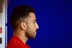WREXHAM, WALES - Wednesday, June 5, 2019: Wales' Neil Taylor speaks to the media at Glyndwr University ahead of the UEFA Euro 2020 Qualifying Group E match between Croatia and Wales. (Pic by David Rawcliffe/Propaganda)