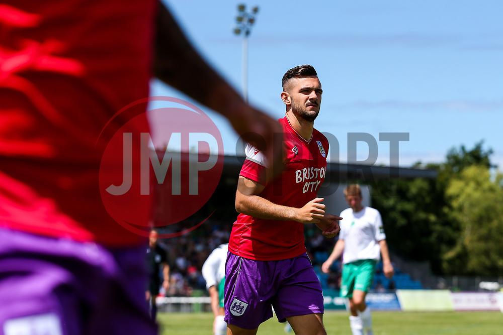 Diego De Girolamo of Bristol City - Rogan/JMP - 08/07/2017 - Footes Lane - Guernsey - Guernsey FC v Bristol City - Pre-season Friendly.