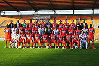 Equipe Laval - 17.09.2014 - Photo officielle Laval - Ligue 2 2014/2015<br /> Photo : Philippe Le Brech / Icon Sport
