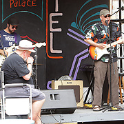 Blues musicians perform Sunday July 27, 2014 during the All-Day Blues Jam at The Rusty Nail in Wilmington, N.C. The event was part of the 19th Annual Cape Fear Blues Festival. (Jason A. Frizzelle)