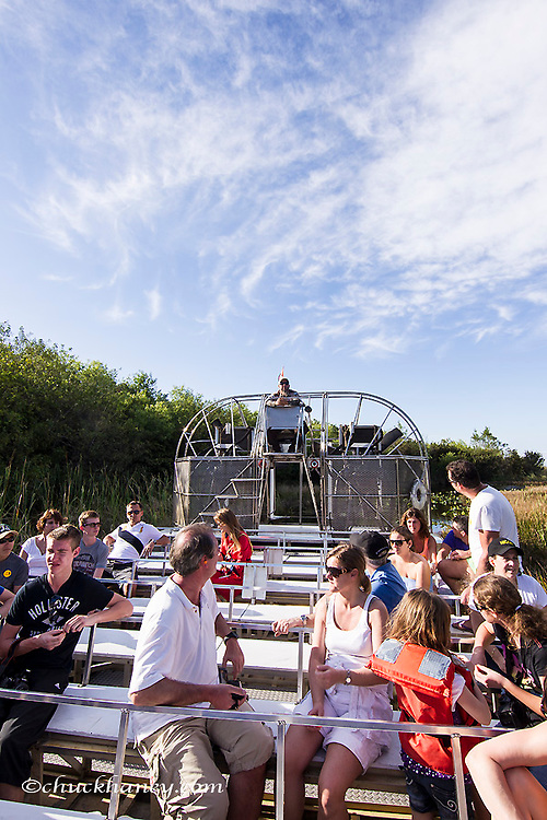 Airboat ride in Everglades National Park, Florida, USA