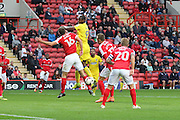 AFC Wimbledon striker Tom Elliott (9) during the EFL Sky Bet League 1 match between Charlton Athletic and AFC Wimbledon at The Valley, London, England on 17 September 2016. Photo by Stuart Butcher.