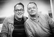Vic Reeves and Bob Mortimer on Sunday Brunch / 19-01-2014.<br />