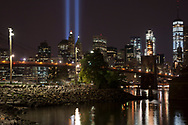 Tribute in Light from Brooklyn.