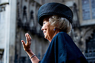 DEN BOSCH - Princess Beatrix attends the jubilee concert on the occasion of 700 years of Illustre Lieve Vrouwe Broederschap. copyrught robin utrecht