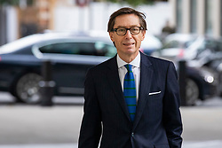 © Licensed to London News Pictures. 04/11/2018. London, UK. German Ambassador Peter Wittig arrives at BBC Broadcasting House to appear on The Andrew Marr Show. Photo credit: Rob Pinney/LNP